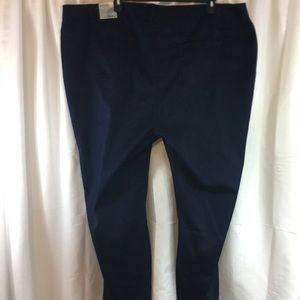 Catherine's Navy Slacks Size 32